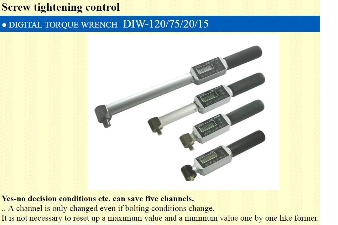 Ichiban Precision Sdn Bhd - Cedar - Cedar Digital Torque Wrench